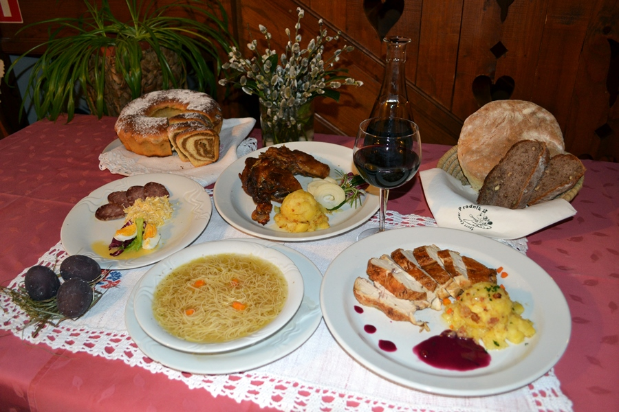 Prodnik Inn Upper Savinja Easter Lunch